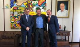 Encontro entre Ministro da Agricultura, Franciso Lavor e Sérgio Barroso